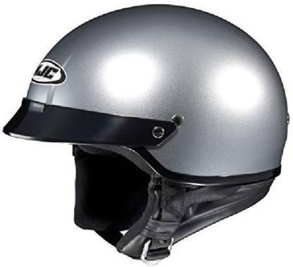 HJC Helmets HJC CS-2N Motorcycle Half-Helmet (Silver -- others - others [CAT_84778] Motorbike Helmet
