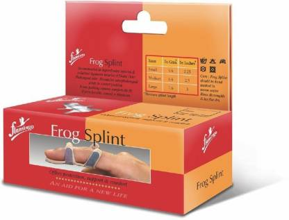 FLAMINGO Frog Splint Finger Support