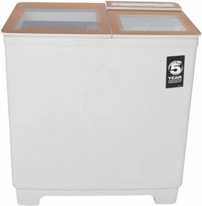 Godrej 8 kg Semi Automatic Top Load Brown, White  (WS 800 PDS)