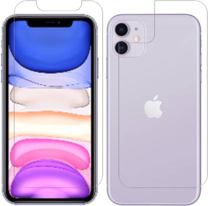 Vonqo Front and Back Screen Guard for Apple iPhone 11