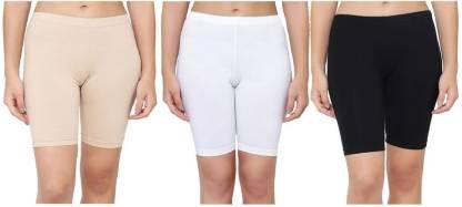 ALESKA Solid Women Multicolor Cycling Shorts