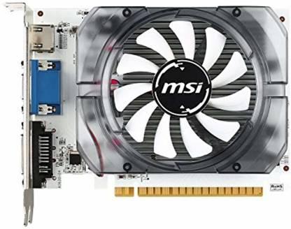 MSI NVIDIA ASINB015DROZM8 2 GB DDR3 Graphics Card