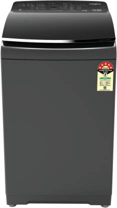 Whirlpool 7.5 kg 5 Star,Hotmatic Technology Fully Automatic Top Load Grey  (360� BLOOMWASH PRO (540) 7.5 GRAPHITE 10YMW)