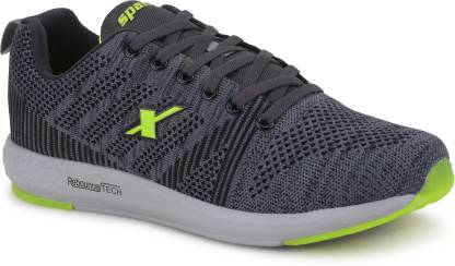 Sparx Men SM-379 Grey Fluorescent Green Running Shoes For Men