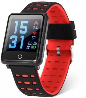 IBS F21 Smart Wristband Fitness Bracelet Smartwatch(Red Strap ONE SIZE)