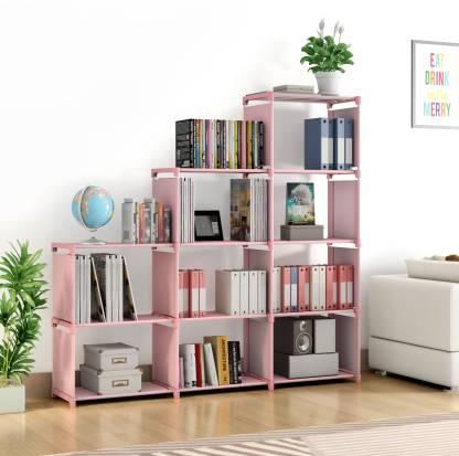 Flipkart Perfect Homes Studio Metal Open Book Shelf