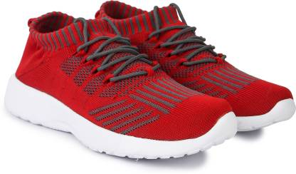 SEGA KS7 GreyRed Training & Gym Shoes For Men