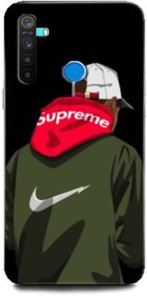 GRAFIQE Back Cover for Realme 5/ Supereme, nike, Supreme, Bramd, Swag, Sport