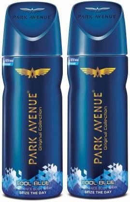 PARK AVENUE ORIGINAL DEO COOL BLUE 100GM (PACK OF 2) Body Spray  -  For Men & Women