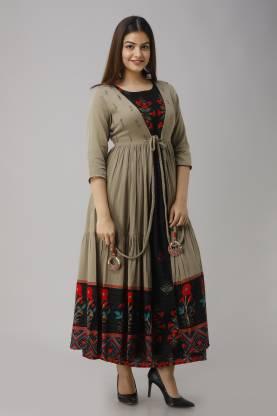 Nehamta Women Ethnic Jacket and Kurta Set