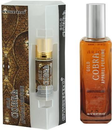 Syspro Cobra Apparel Perfume (100ml) With (8 ml) for Men, Woman & Unisex With Long Lasting Fragrance Perfume (100 ml + 8 ml) Eau de Parfum  -  100 ml