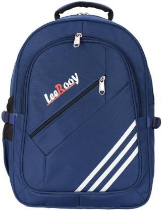 LeeRooy MN-Canvas 30 Ltr Black School Bag Backpack For Unisex School Bag