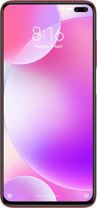 POCO X2 (Phoenix Red, 128 GB)  (6 GB RAM)