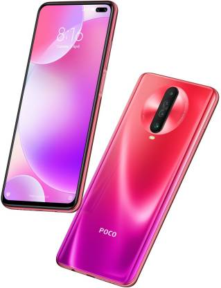 poco x2 in blue and red colour