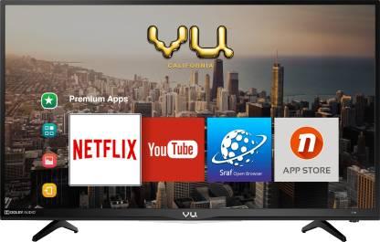 Vu 100cm (40 inch) Full HD LED Smart TV