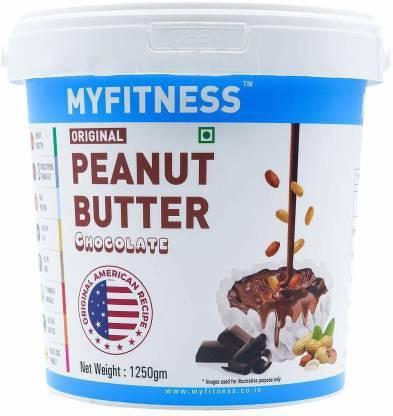 MYFITNESS Chocolate Peanut Butter 1250 g 1.25 kg