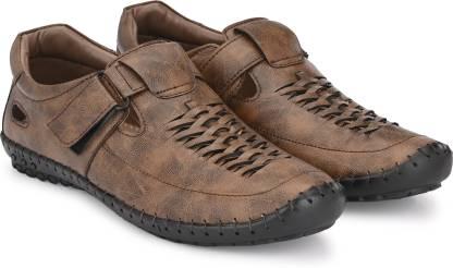 T-Rock Men Brown Sandals