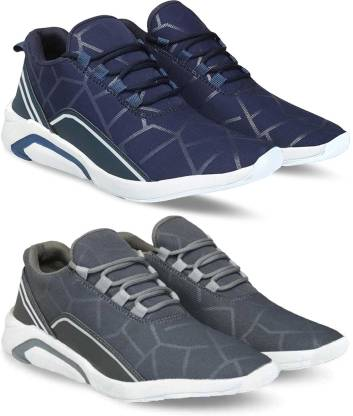 Bersache Combo pack of 2, Sports Running shoes for men Running Shoes For Men