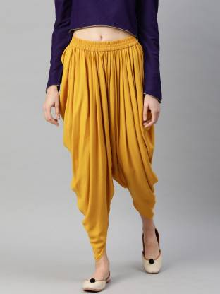 MIAZ LIFESTYLE Solid Women Dhoti