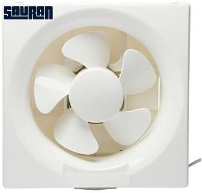 Sauran 200mm Ventilation Exhaust Fan, Heavy Duty 200 mm 5 Blade Exhaust Fan