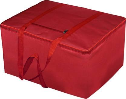 Billion Designer Rexine Jumbo Attachi Bag Travel Handbag Storage Carrying Bag, Blanket Cover,Duffle,Travel Multi-Purpose Bag (Red) BILLION034718