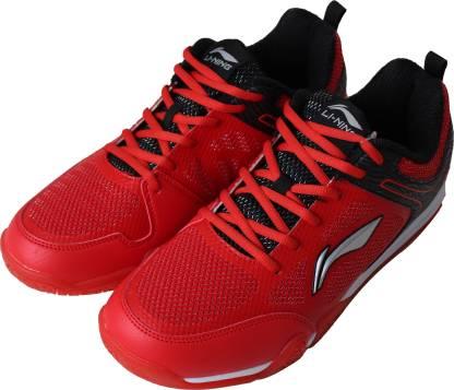 Badminton Shoes For Men(Red)