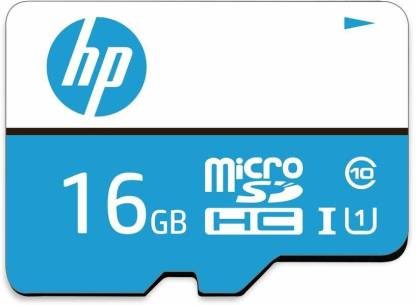 HP U1 16 GB MicroSDHC Class 10 90 MB/s  Memory Card