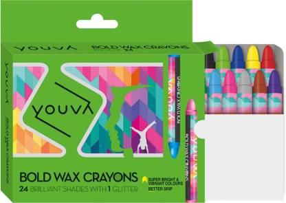 NAVNEET Youva Bold Wax Crayons