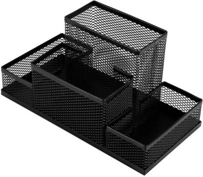VARSHA INDOTECH SALES 4 Compartments metal stationary holder