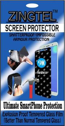 ZINGTEL Tempered Glass Guard for HTC Desire SV