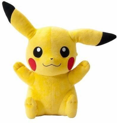 THE MODERN TREND Yellow Pikachu Pokemon Stuffed Soft Plush Toy Love Girl 17 cm - 17 cm (Yellow)  - 13 cm