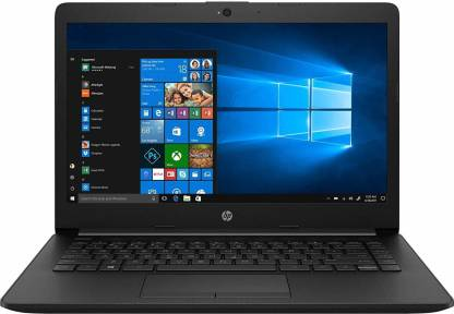 HP 14 APU Dual Core A4 9th Gen - (4 GB/1 TB HDD/Windows 10 Home) 14-cm0123au Thin and Light Laptop