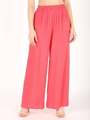 Envy 9 Regular Fit Women Pink Trousers