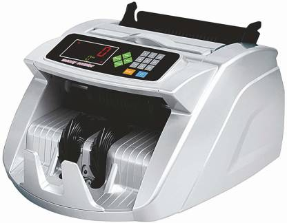 VMS Essentials Compatible with UV, MG, UV, IR, and MT anti-counterfeit (Fake Note) Detector Old and New Indian Notes Counting Machine with LED Display and Beep Function (CCM02) Note Counting Machine