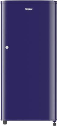Whirlpool 190 L Direct Cool Single Door 3 Star (2020) Refrigerator  (Solid blue, WDE 205 CLS 3S BLUE)
