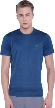 Men's Long Sleeve Performance Moisture Wicking T-Shirt 1/4 Zip Gym Fitness Tops