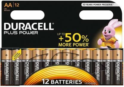 DURACELL Plus Power Type AA-12pcs  Battery