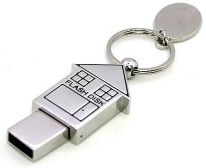 Eshop Metal Home Shape Designer 4 GB Pen Drive