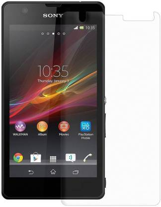 Sonakshu Impossible Screen Guard for Sony-Xperia-Zr