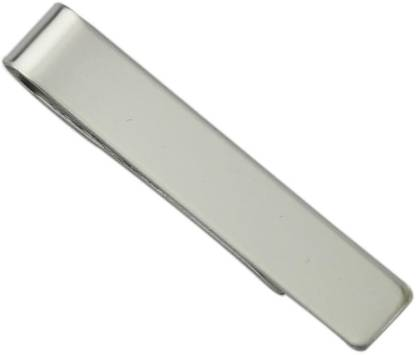 Power Up Stainless Steel Tie Pin  (Silver)