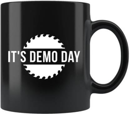 Sky Dot Demo Day, Demolition Day Gift, Home Renovation Ceramic Coffee Mug