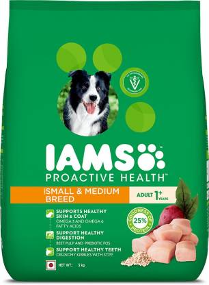 IAMS Proactive Health Chicken 3 kg Dry New Born, Young, Adult Dog Food