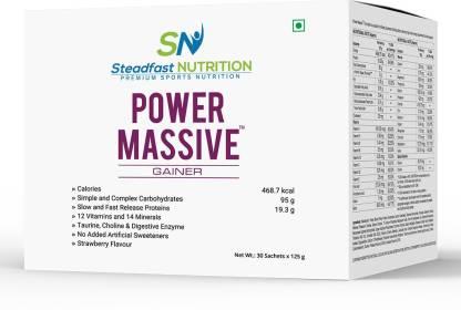 Steadfast Medishield Power Massive Weight Gainers/Mass Gainers