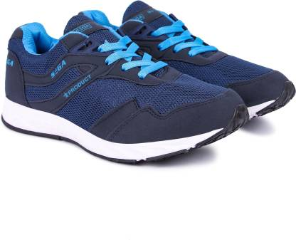 SEGA Sega 9 NavyBlue Marathon Training & Gym Shoes For Men