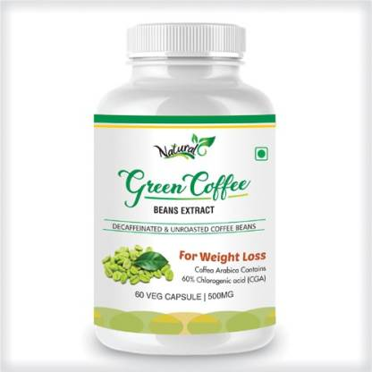 Natural Health Care Green Coffee Extract 500 mg Vitamins Capsule