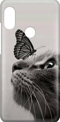 Accezory Back Cover for VIVO V9, LOVE, CUTE CAT, Love, Couple, Love, Couple