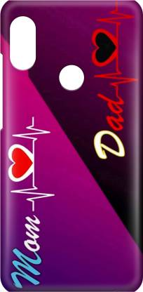 Accezory Back Cover for MI A2/LOVE/MOM DAD/LOVE/CASE