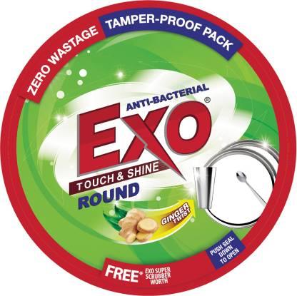 Exo Touch & Shine Round Dishwash Bar