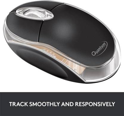 QUANTUM QHM222 Wired Optical Mouse