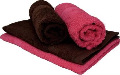 NANDAN GEMS Cotton 300 GSM Hand Towel Set